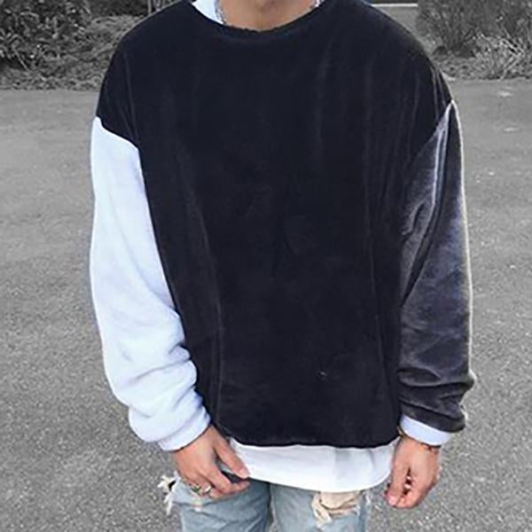Men's Pullover Loose Casual Sweatshirt