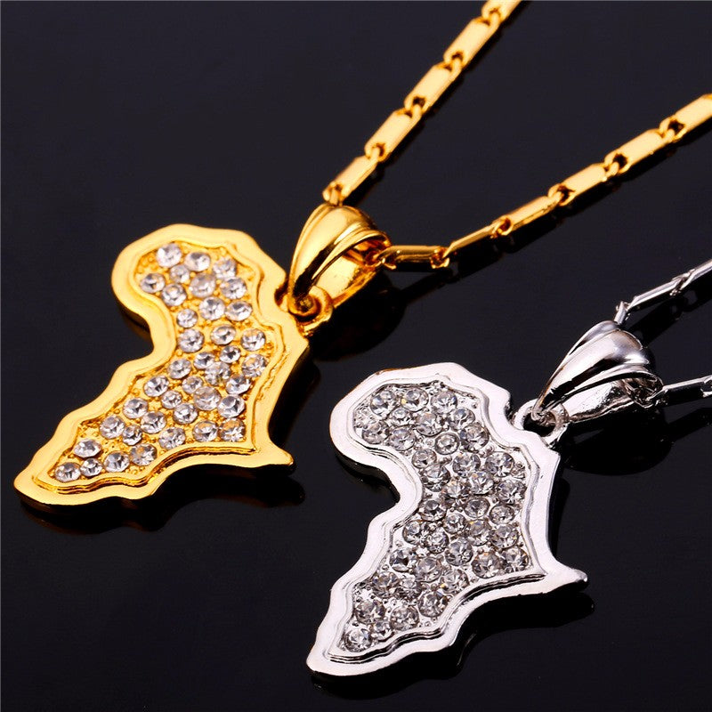 PENDENTIF ICED AFRICA
