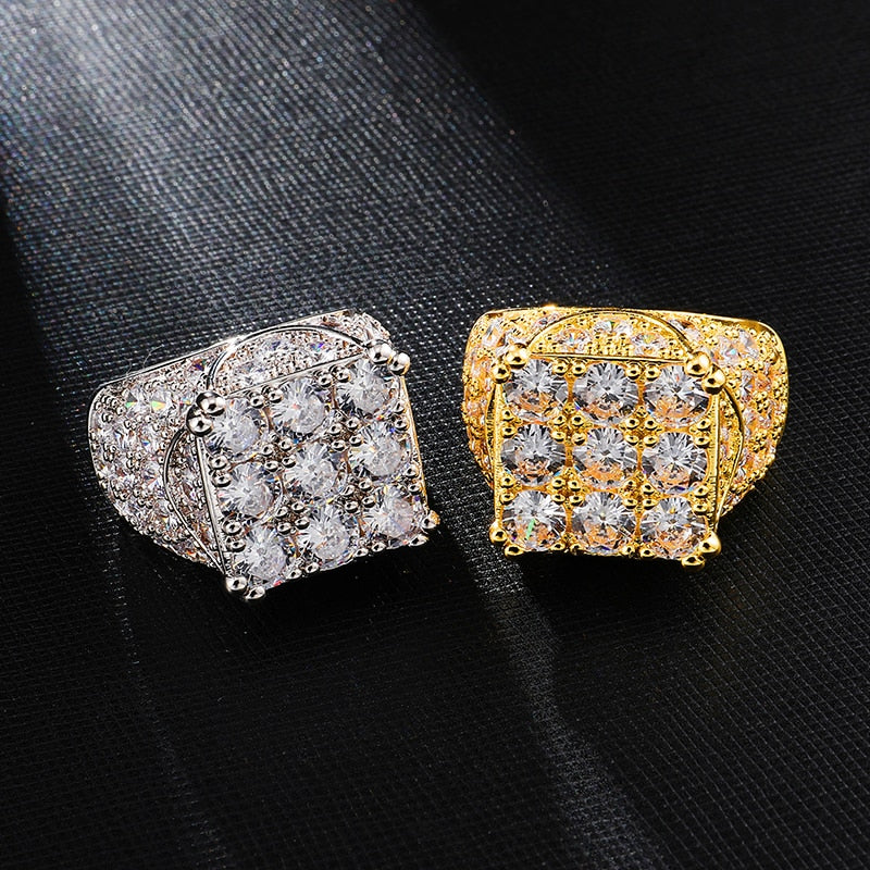 BAGUE ICE GRID - Drip Paname