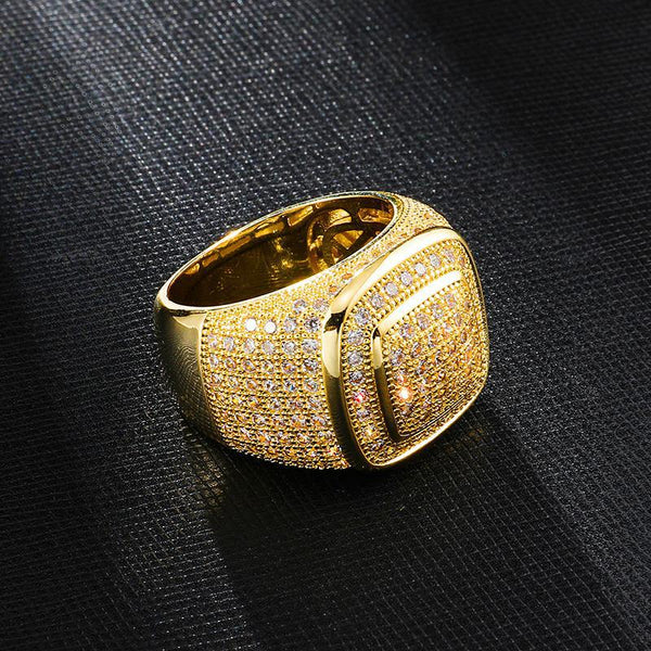 BAGUE ICE FRAME - Drip Paname