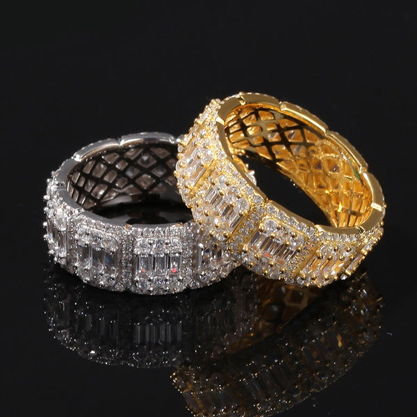 BAGUE ICE ROUND - Drip Paname