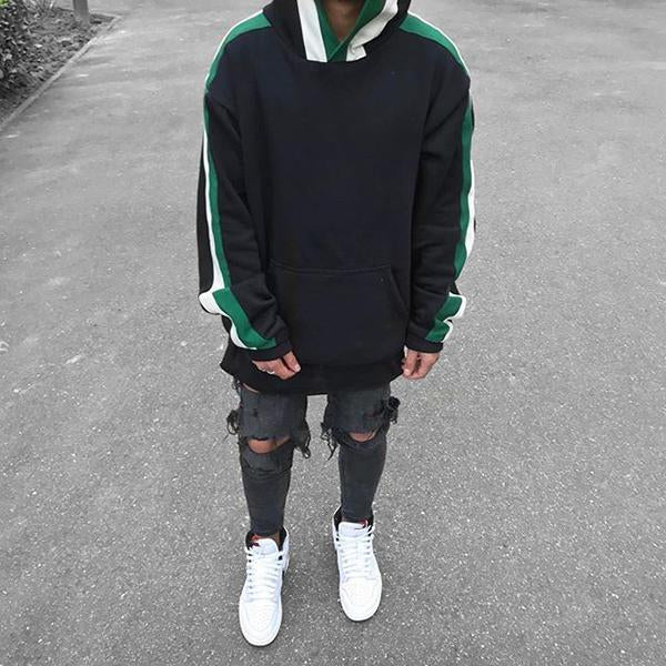 Men's Fashion Hooded Loose Sweatshirt
