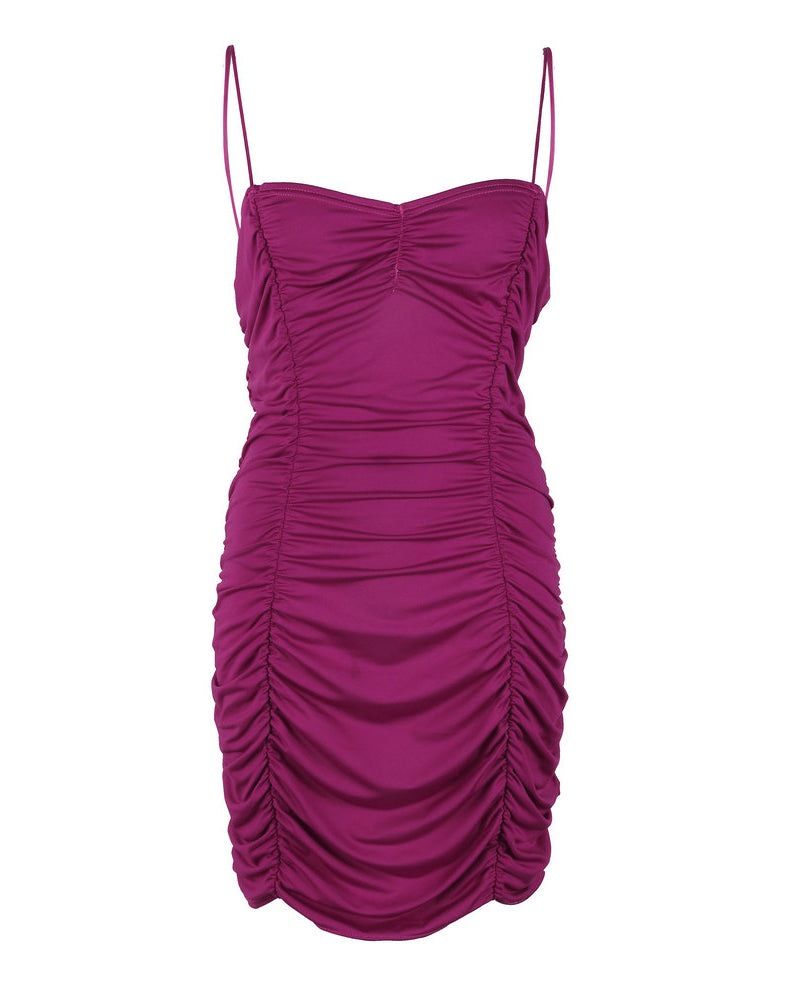 Hip Package Ruched Party Dress