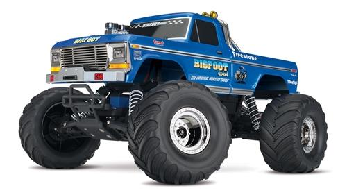 Bigfoot No 1  Monster Truck BLUE-WHITE Color