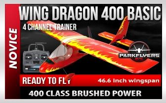 Wing Dragon 400 RTF w- Ailerons