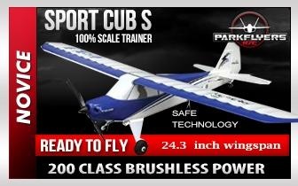 Sport Cub S Electric RC Airplane