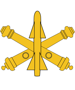 US ARMY AIR DEFENSE ARTILLERY BRANCH