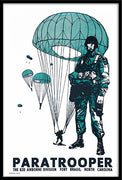 1973 82nd Airborne Paratrooper Poster 12x18 Poster