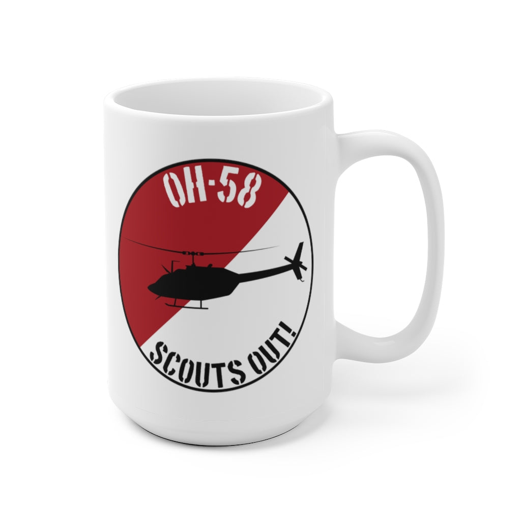 OH-58 Scouts Out! Mug