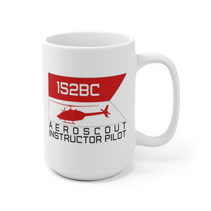 152BC Aeroscout Instructor Pilot Guidon Mug
