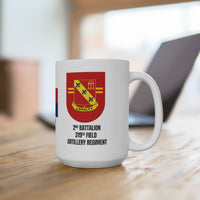 319th Field Artillery Regiment 2nd Battalion Mug