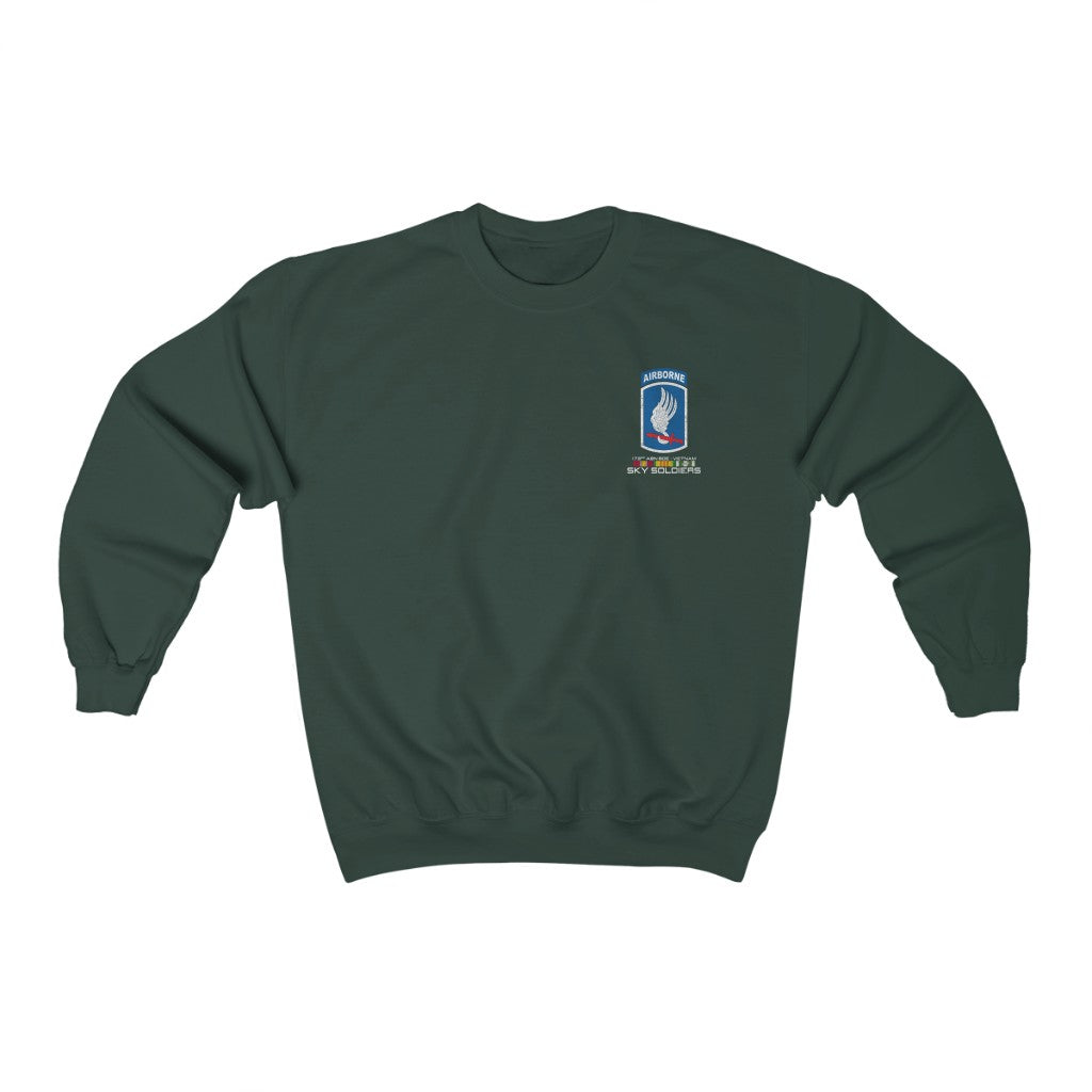 173rd Airborne 8 November Heavy Blend Crewneck Sweatshirt