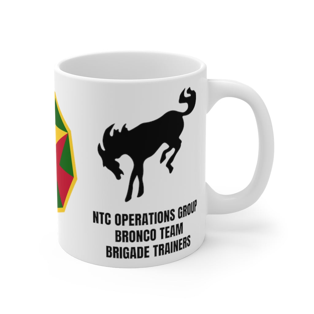 Bronco Team Brigade Trainers Mug