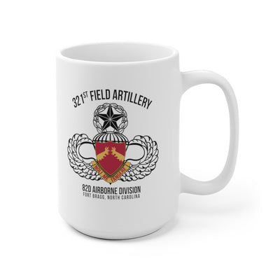 321st Field Artillery Regiment Mug
