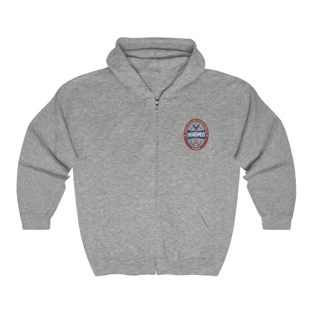 96R Ground Surveillance Systems Operator Full Zip Hooded Sweatshirt
