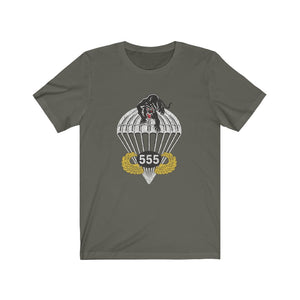 555th Airborne Triple Nickle Vintage Style T-Shirt