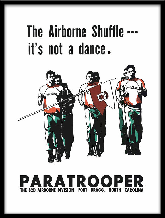 82nd Airborne Shuffle Poster