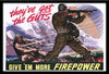 They've Got The Guts! Dean Cornwall 18x12 WWII Poster Reproduction