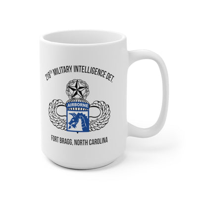 218th Military Intelligence Detachment Mug