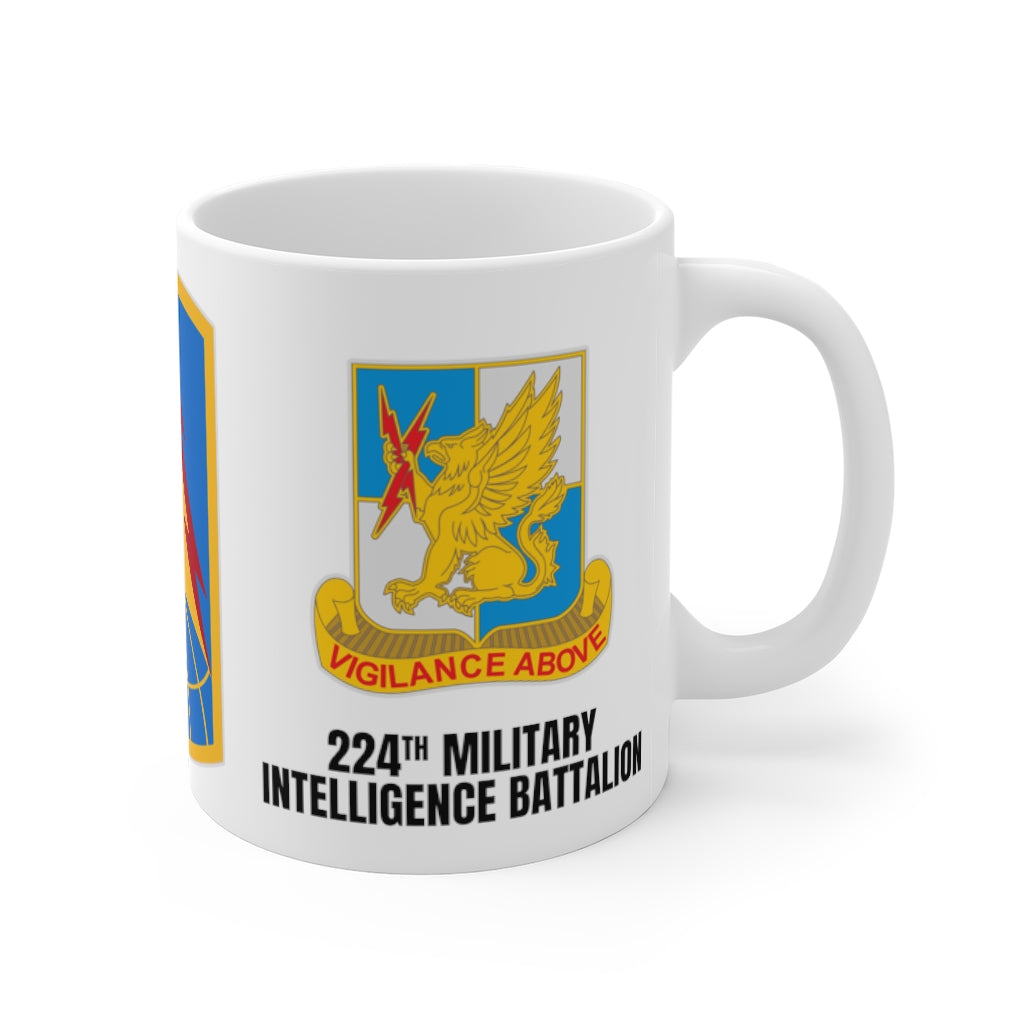 224th Military Intelligence Battalion Mug