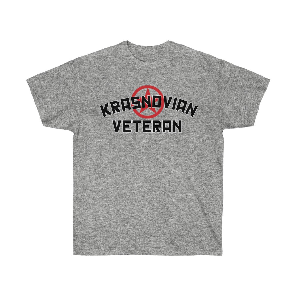 Krasnovian Veteran! Unisex Ultra Cotton Tee