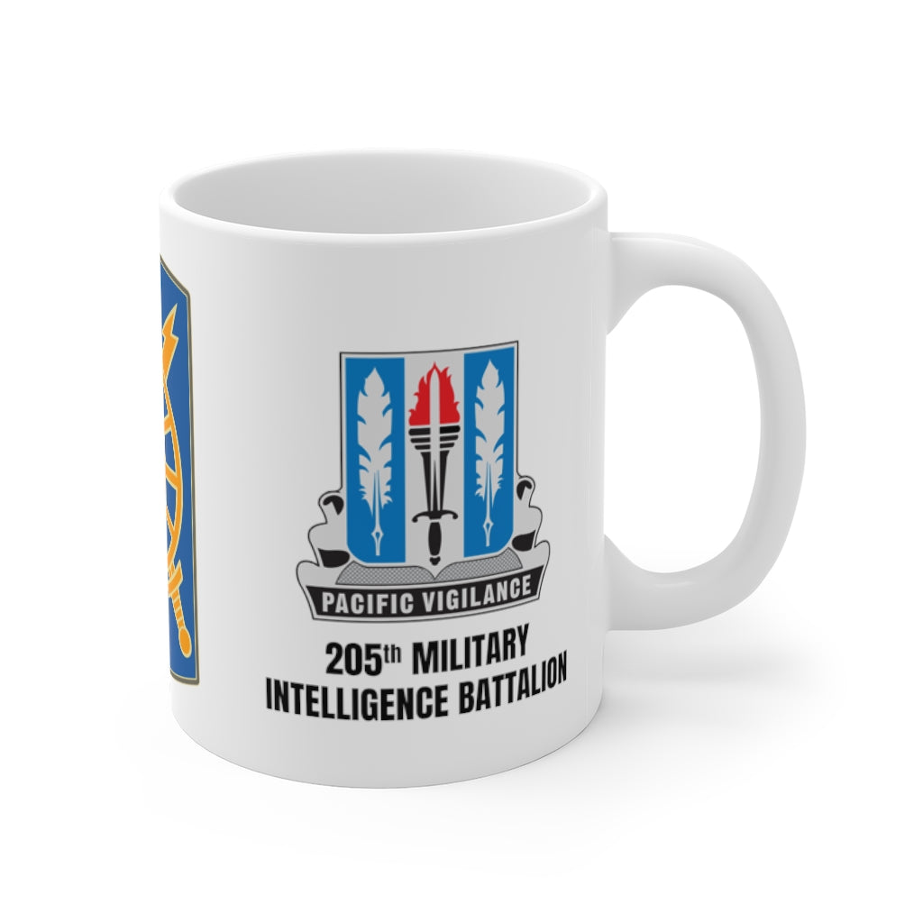 205th Military Intelligence Battalion Mug