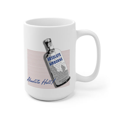 Absolute Airborne Jump School Mug - 1990s Design