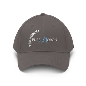 My Governor is a Pure Moron Unisex Twill Hat