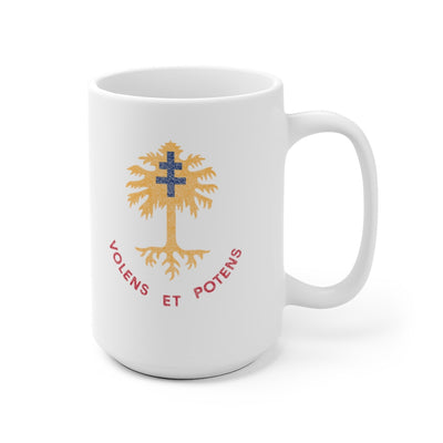 320th Field Artillery Regiment Distressed Look Mug