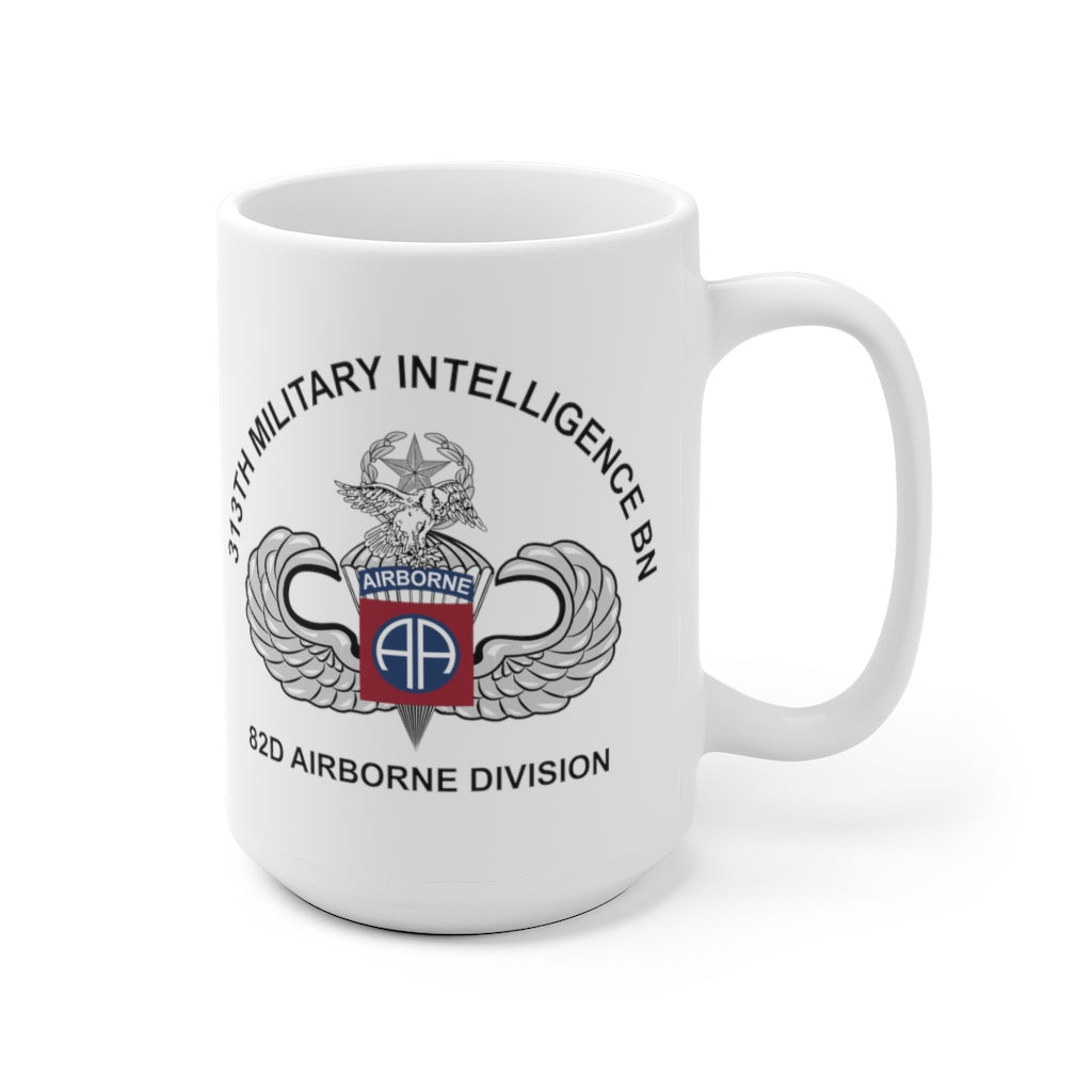 313th Military Intelligence Battalion Dragon & Owl Mug