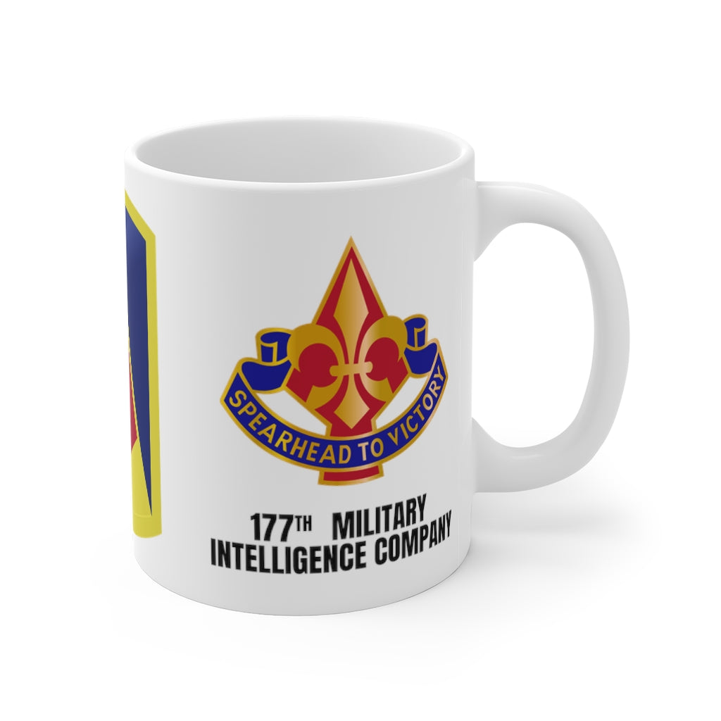 177th Military Intelligence Company Mug