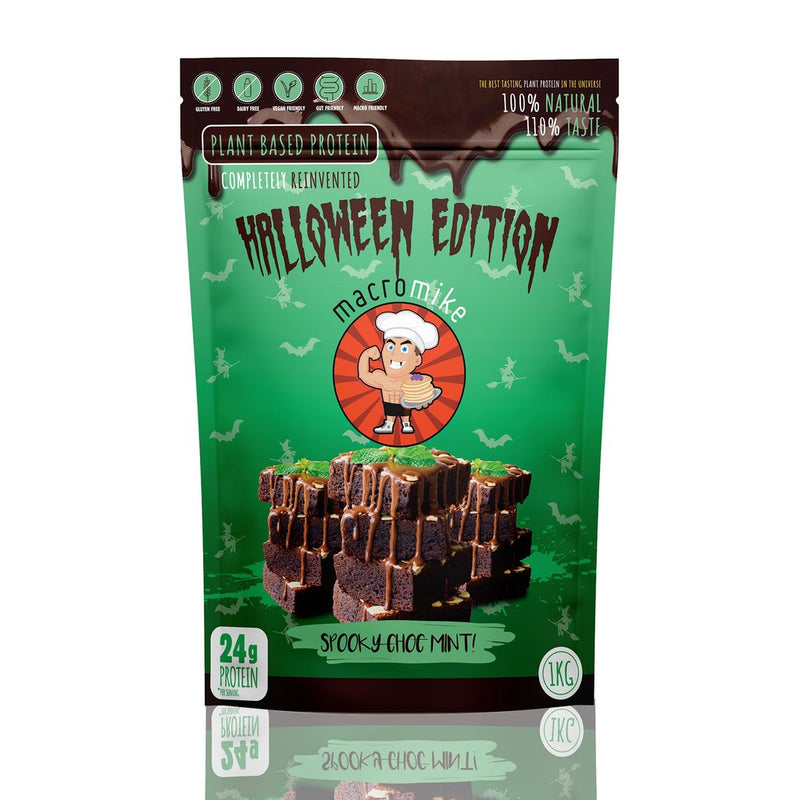 Macro Mike Halloween Edition Plant Protein - Mint - Nutrition Capital
