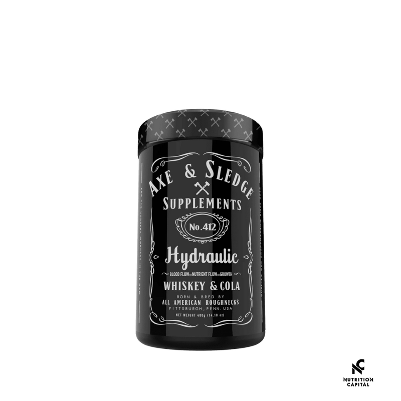 Axe & Sledge Hydraulic 40 Scoops - Nutrition Capital