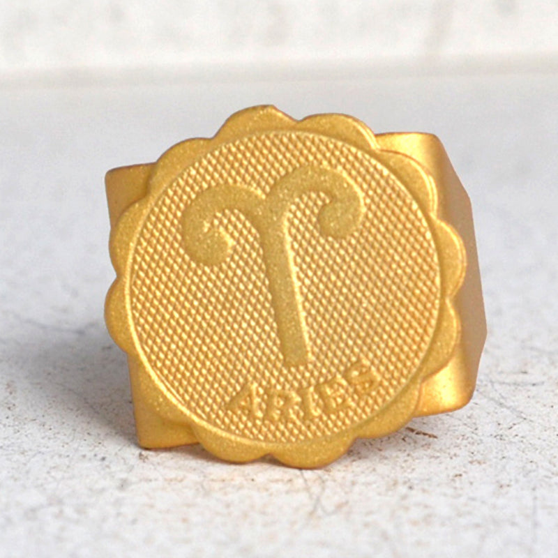 Aries Gold Ring