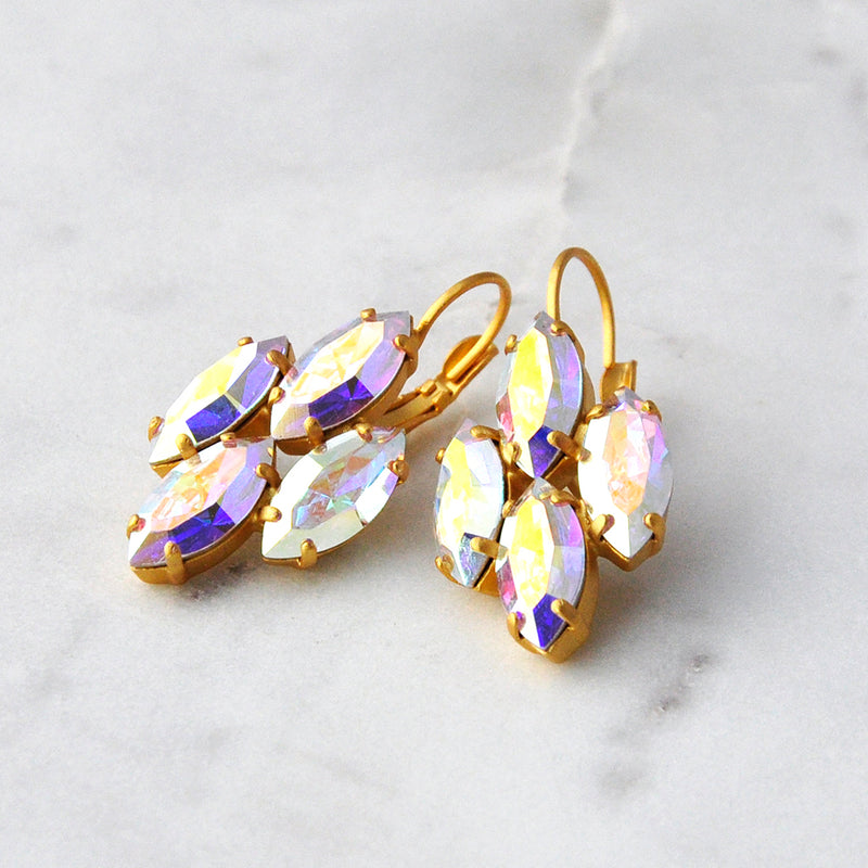 Marquise Cut Earrings