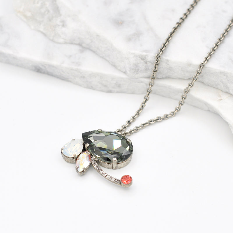 silver ra necklace