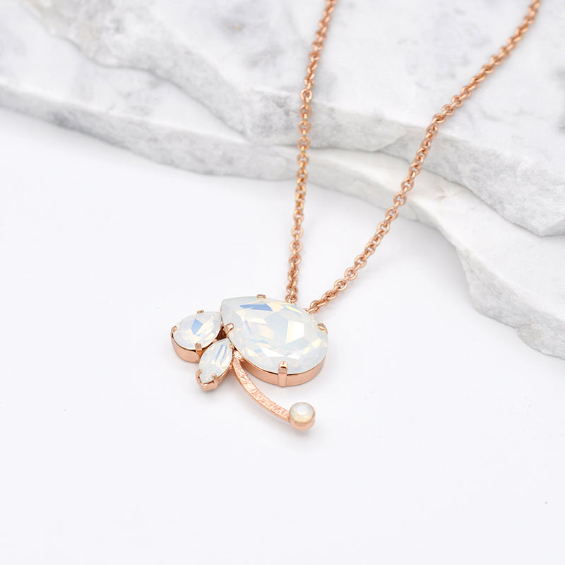 rose gold ra necklace