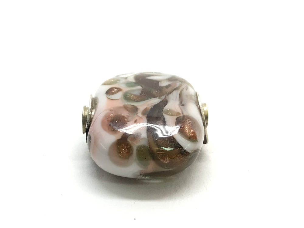 Taffy Goldstone Sparkle Glass Bead Charms