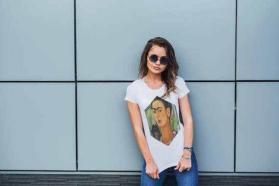 Frida Kahlo T-Shirt Women Tshirt Women T Shirt