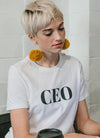 CEO White  Women T-shirt