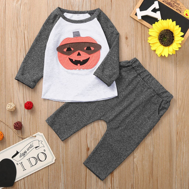 Toddler Boy Clothes Halloween Full Sleeve T-shirt