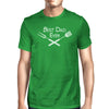 Best Bbq Dad Green Graphic T-shirt For Men Funny