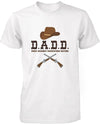 Men's Funny Graphic Statement White T-shirt - Dads