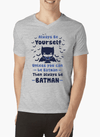 BE YOURSELF V-Neck T-shirt