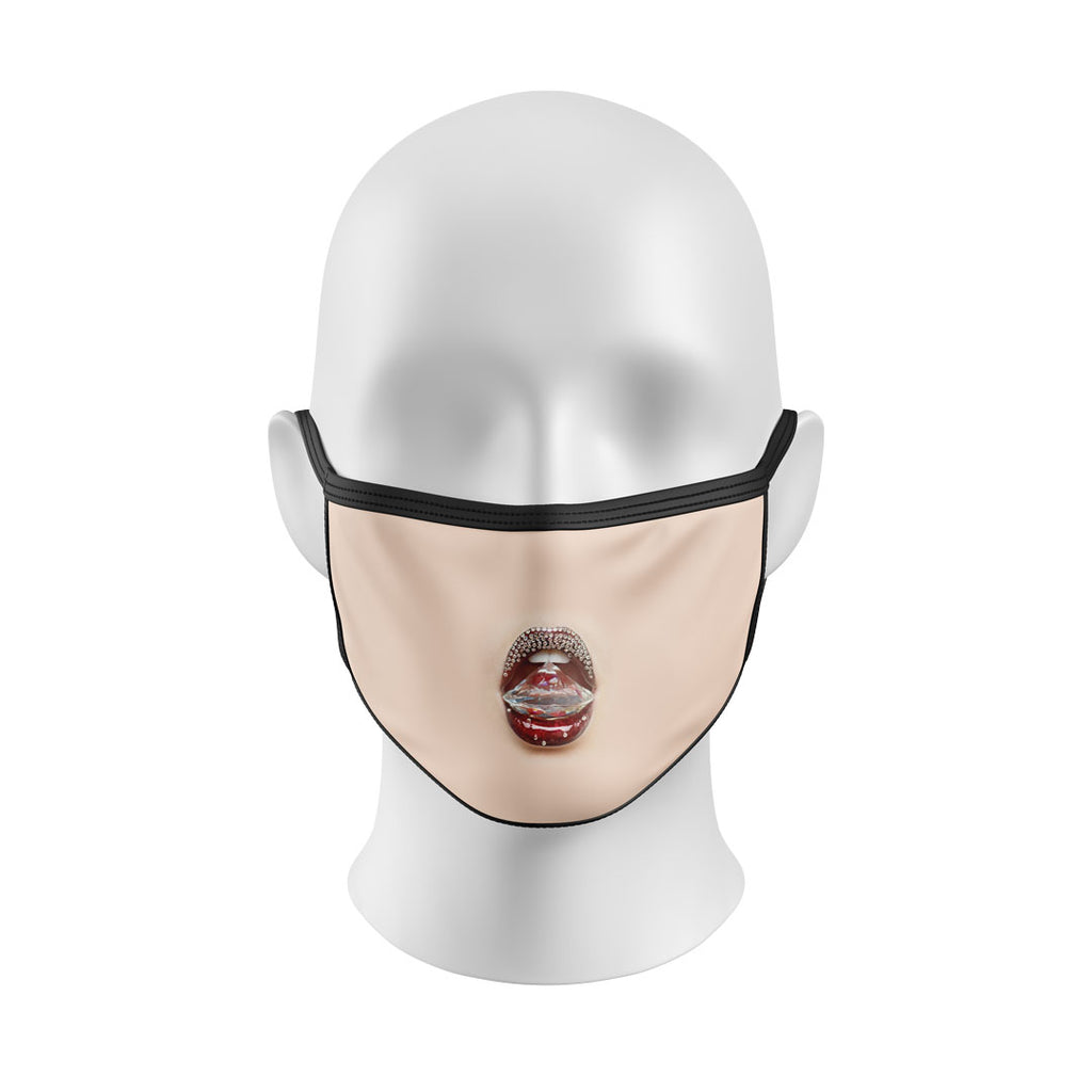 Diamond Mouth Mask