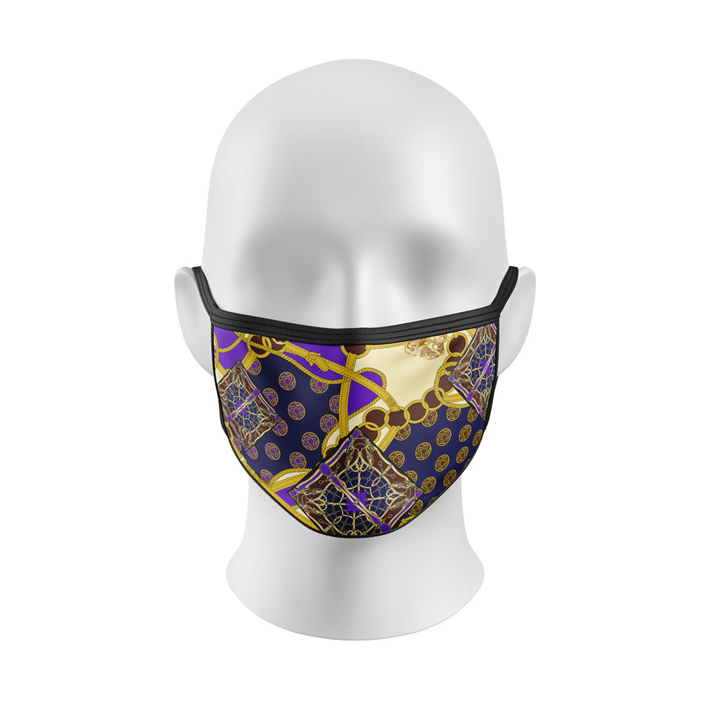Gold Belts Mask