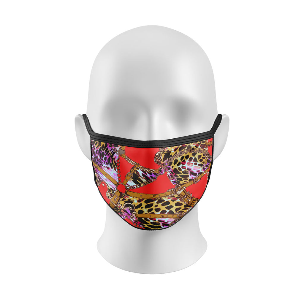 Leopard Belts Mask