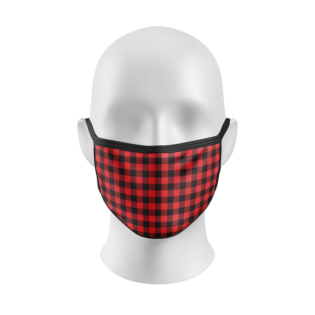 Red Flannel Mask