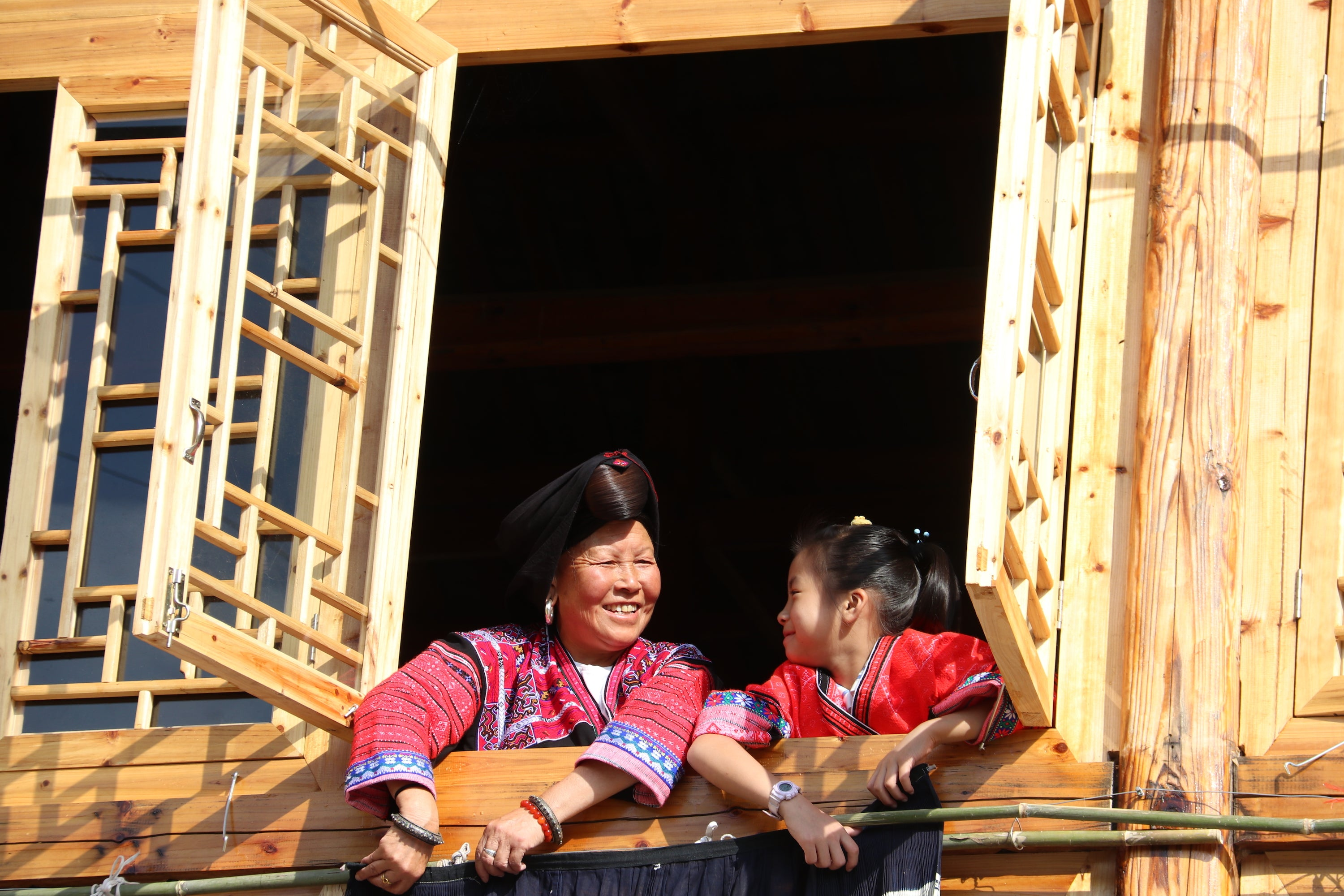 The Red Yao at their annual 'Clothes Hanging' festival.