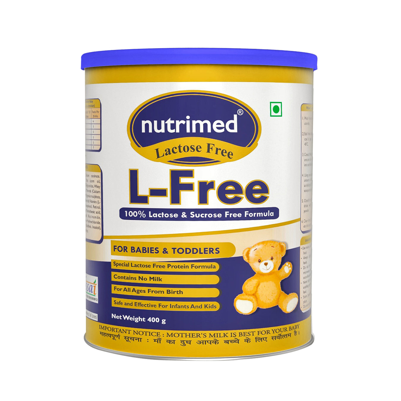 Specialized Infant milk formula